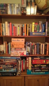 My growing board game collection